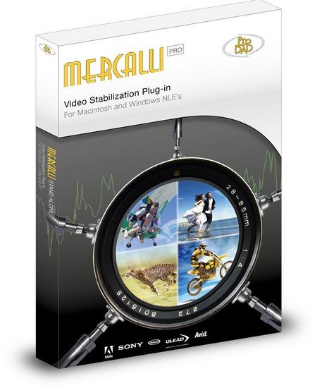 proDAD Mercalli Pro 2.0.126.1 + plug-ins Adobe 4.0.477.1 / V4 SAL+ 4.0.457.1